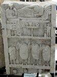 Стела Дионисия, сына Никандра и Аристида, сына Дионисия. IIв. н.э.