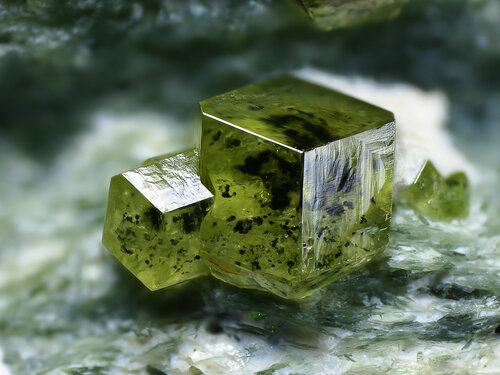Красивые природные минералы