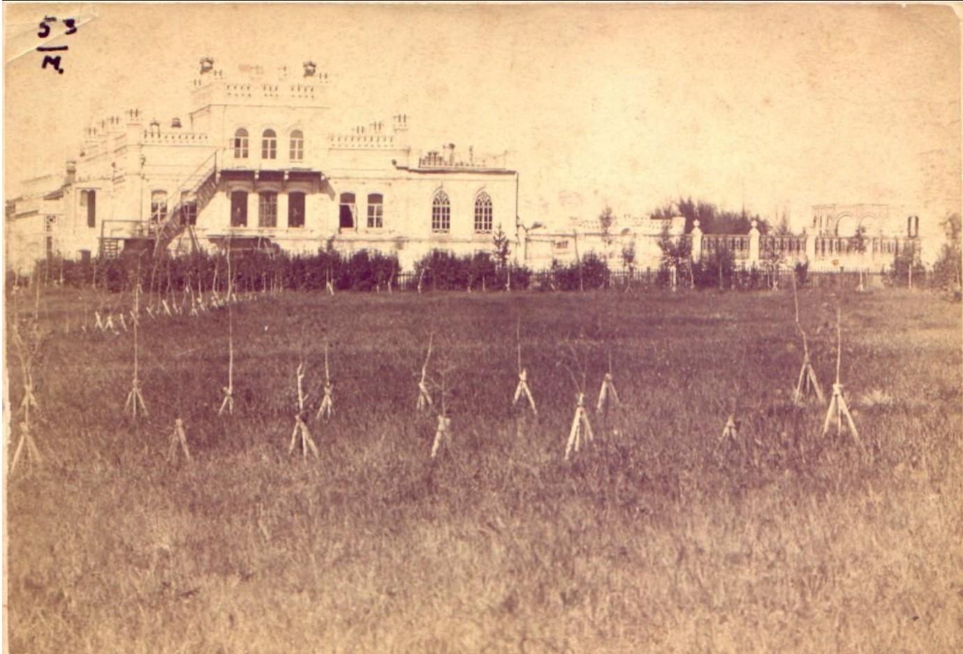 Дворец М.Д.Бутина. 1885