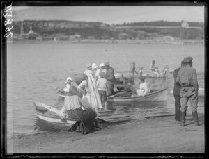 1919. Лето. Барнаул. На реке