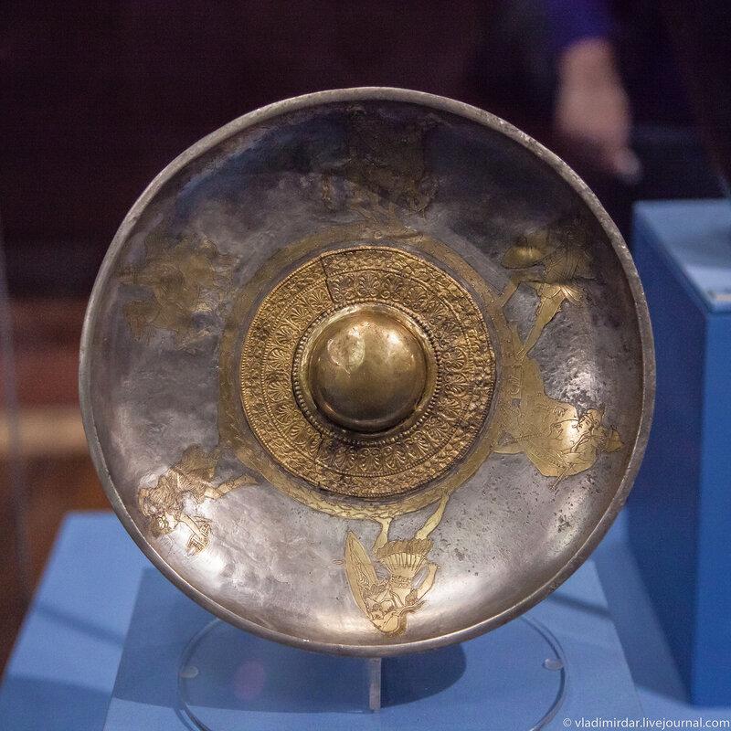 Фиала. Серебро, позолота. Конец V в. до н.э.