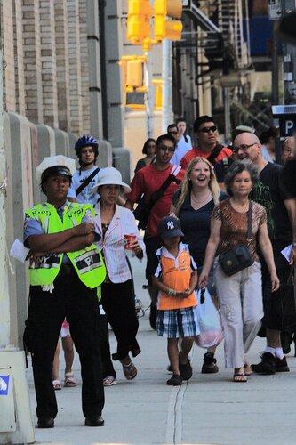 Туристы на Манхэттене
