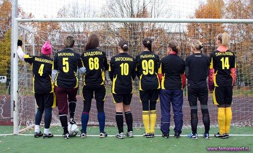 Женская Футбольная Команда «G-Force»