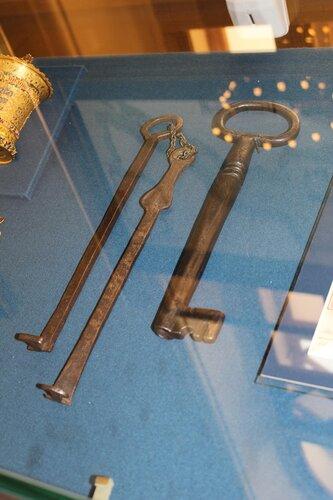 Ключи от турецкой крепости Силистрия и города Адрианополь