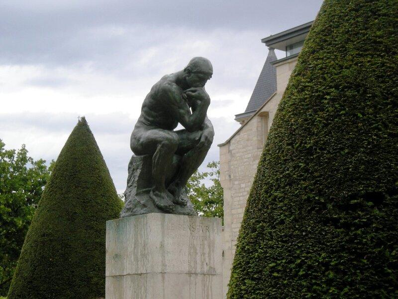 Париж, музей Родена. Мыслитель