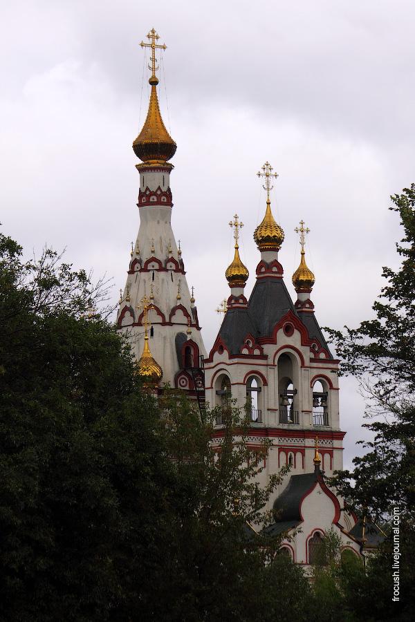 Храм Казанской Иконы Божьей Матери в городе Долгопудном