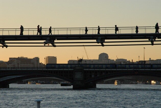 мост Миллениум (London Millennium Footbridge)