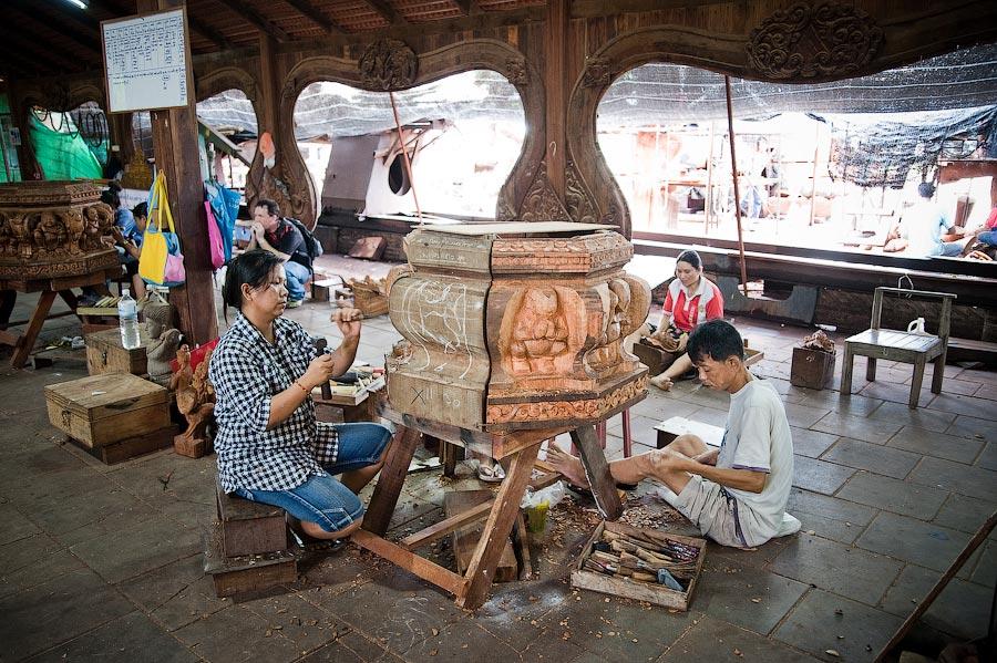 Храм Правды в Таиланде. Шедевр из дерева