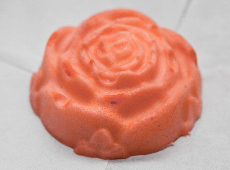 Розовое кастильское мыло :)