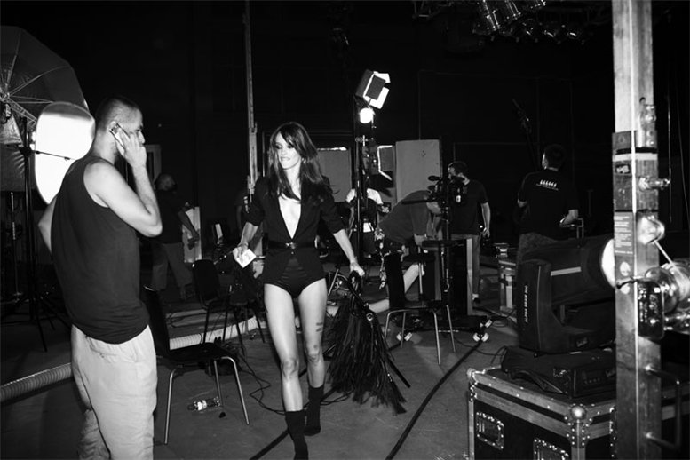 Анна Ягодзинска и Кармен Педару / Anna Jagodzinska and Karmen Pedaru by Agata Pospieszynska - Backstage