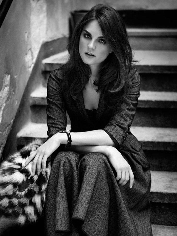 модель Анук Лепер / Anouck Lepere, фотограф Ruben Vega