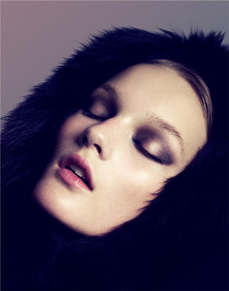 модель Kirsi Pyrhonen / Кирси Пирхонен, фотограф Samuli Karala