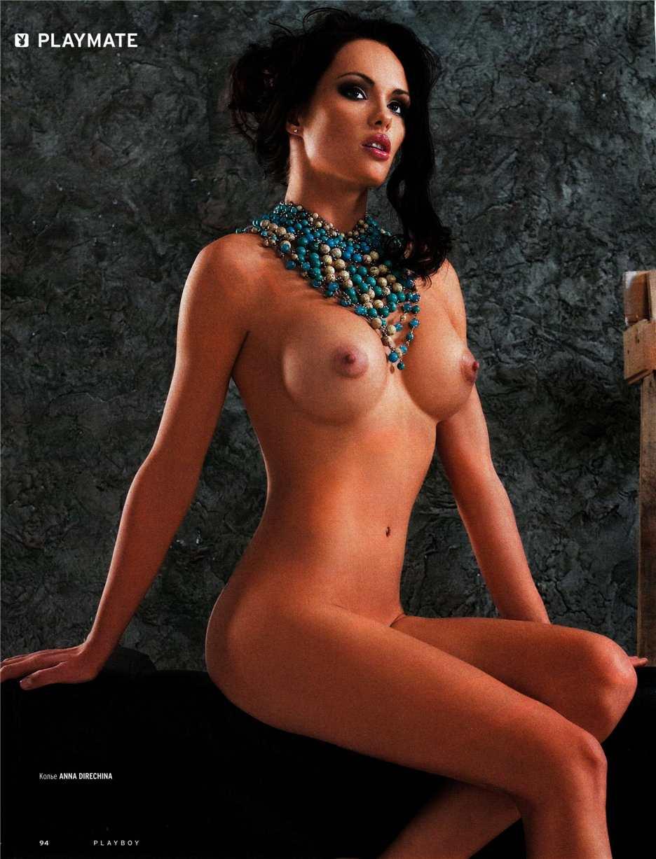 Нина Животова в российском Playboy в декабре 2010