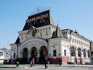 В 2011 году на ж.д вокзале Владивостока построят новую современную платформу