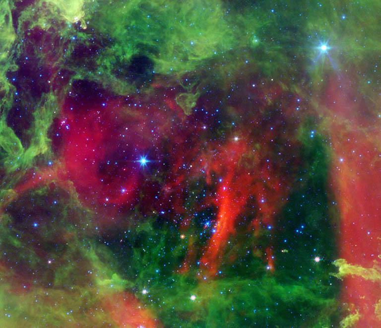 Heart of the Rosette Nebula