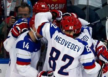 Сборная России вышла в финал чемпионата мира по хоккею 2014