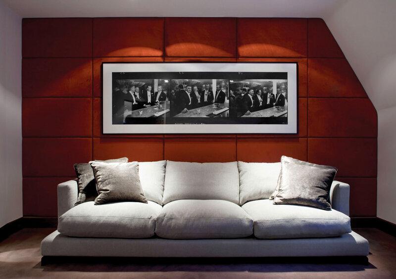 Двухэтажный пентхаус в Лондоне от Staffan Tollgard Design Group