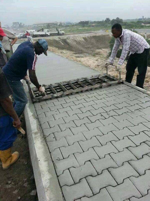 Тротуарная плитка: экспресс-метод