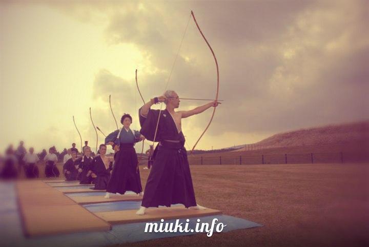 Японский лук — древнейшее оружие