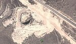 Огромная дыра в Китае 38.85878007241521,111.6031789407134