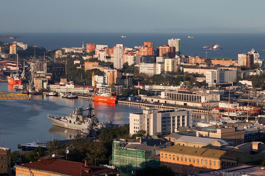 14. У далёкого Японского моря. Владивосток и остров Русский.