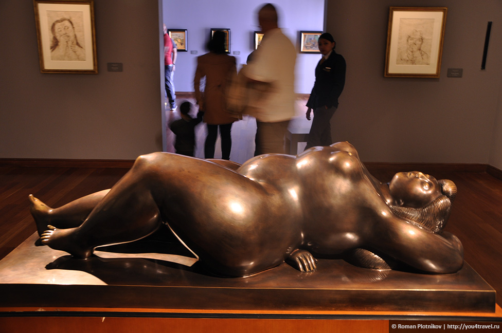 0 181a70 f7f7e485 orig День 203 205. Самые роскошные музеи в Боготе – это Музей Золота, Музей Ботеро, Монетный двор и Музей Полиции (музейный weekend)