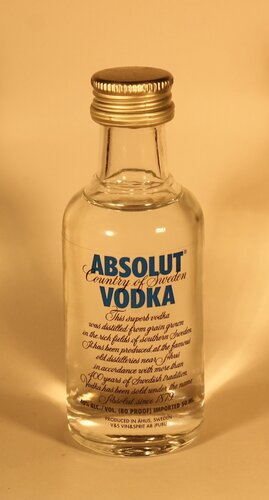 Водка Absolut Vodka Country of Sweden