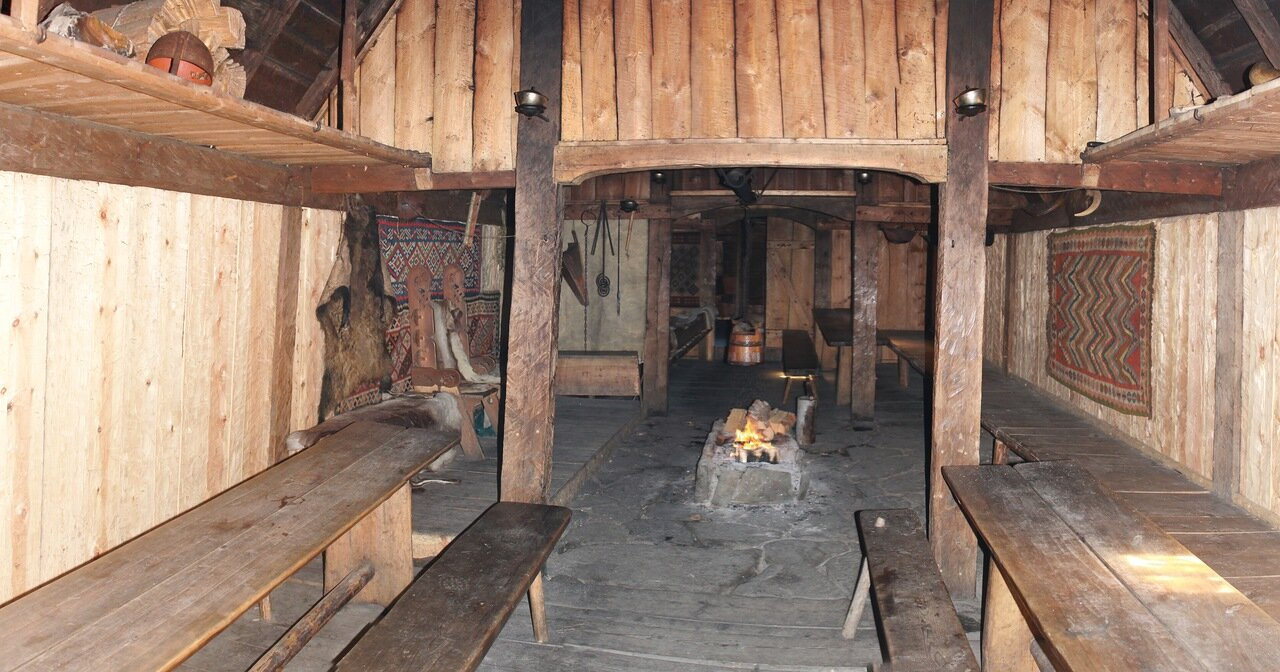 Авалдснес, Деревня викингов