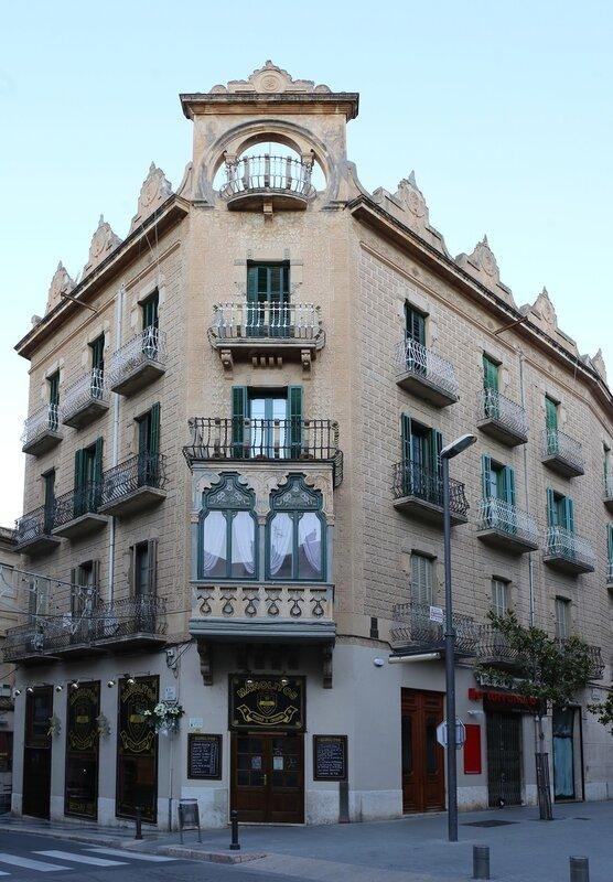 Tortosa, Тортоса,Casa Mateu,Casa Facundo Segarra
