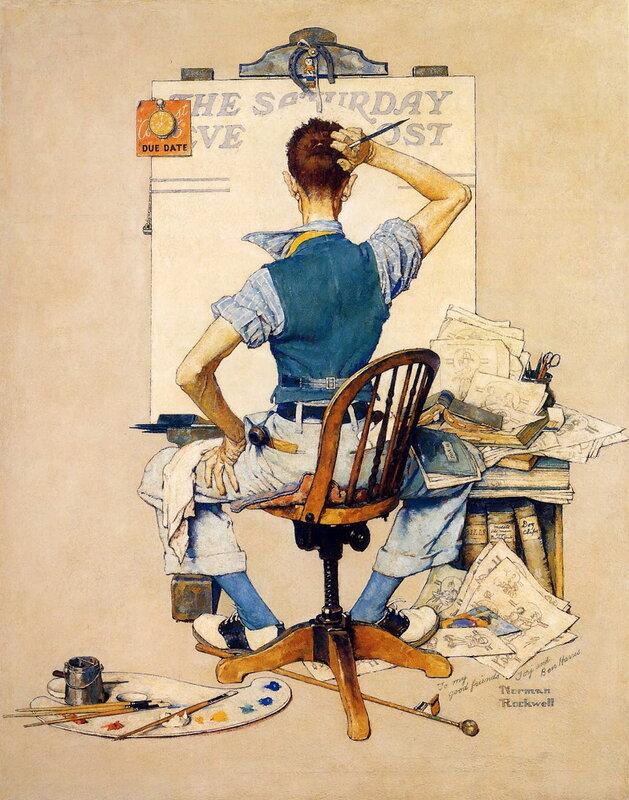 Иллюстратор Норман Роквелл (Norman Rockwell)