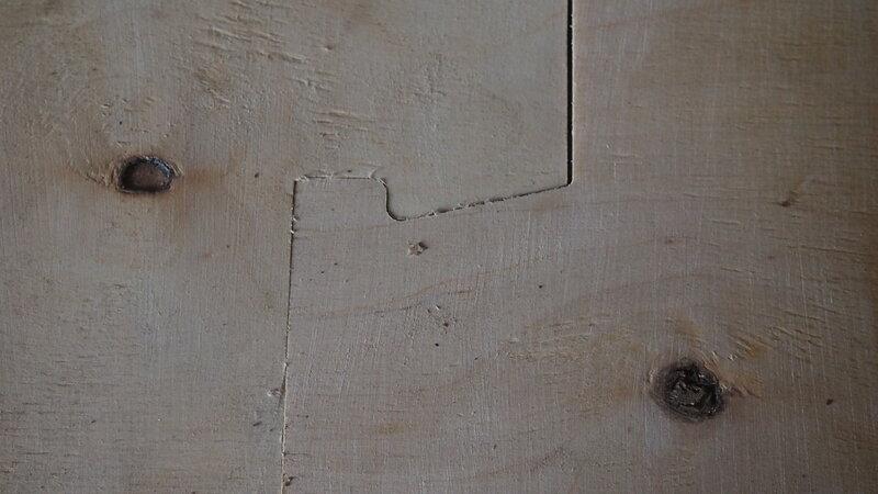соединение шип паз зазор 0.2 мм
