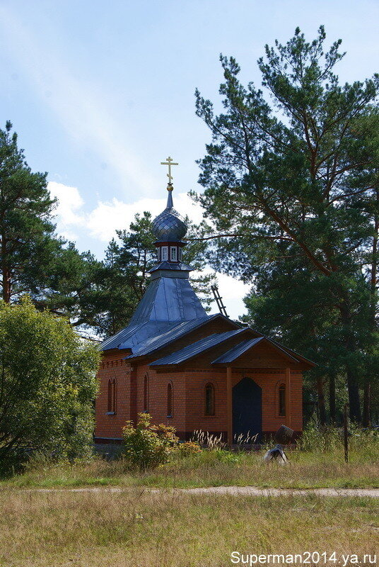 Церковь Иконы Божией Матери Неопалимая Купина в Чистом Северном