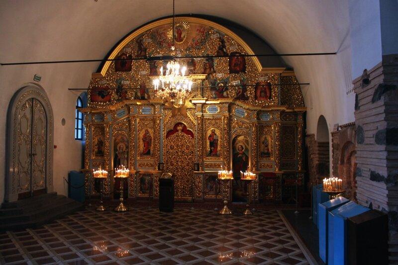 Иконостас Стефановского придела Успенского собора