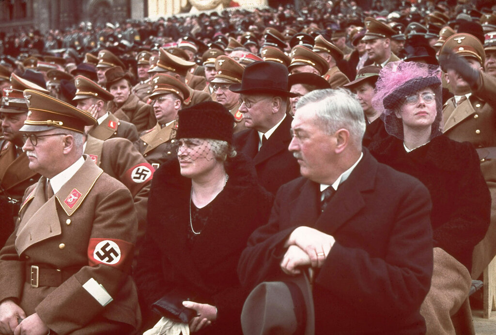 Hitler at 50: Rare Color Photos
