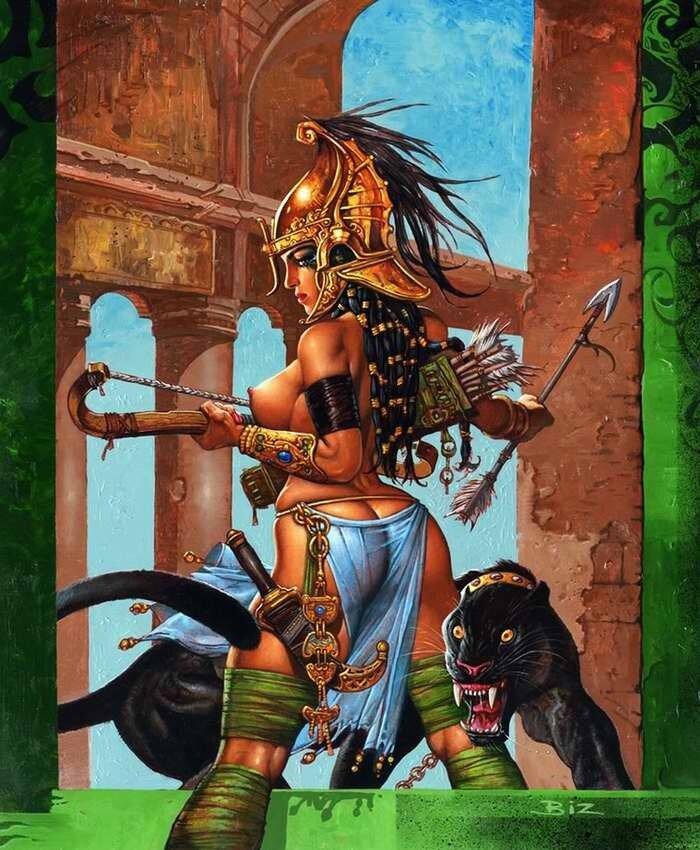 Зенобия (царица Пальмиры) - Simon Bisley
