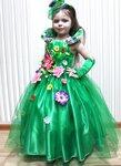 Карнавальное платье для девочки своими руками