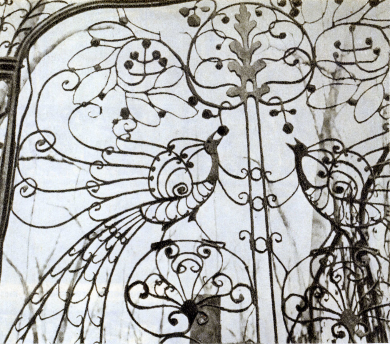 62074 Армянское кладбище. Утраченная ограда усыпальницы Тарасова.70-нач.80-х.jpg