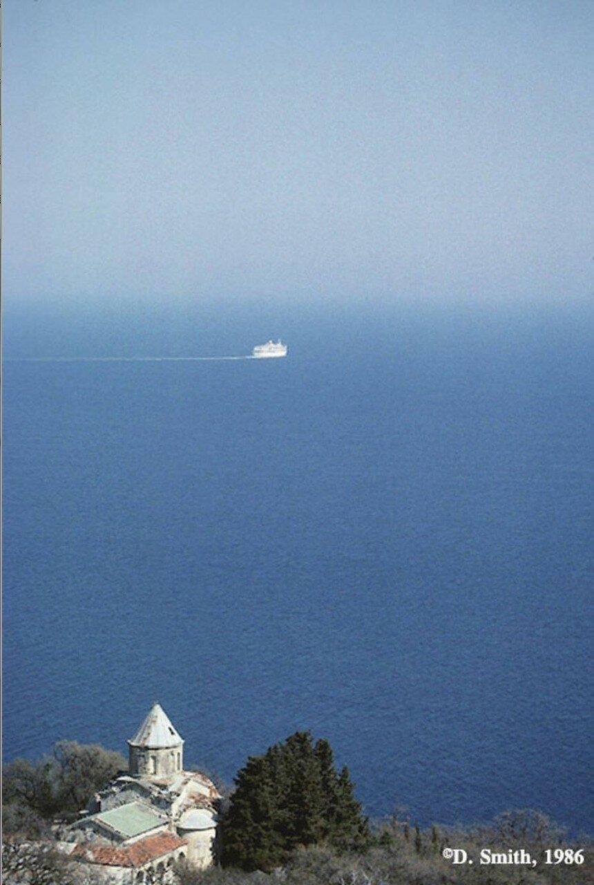 Крым. Ялта. Морской пейзаж
