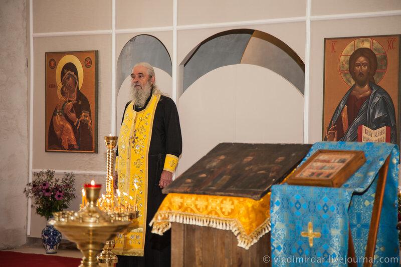 Настоятель храма святителя Василия Великого в Кистыше - протоиерей Владимир Иванов