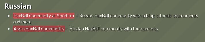 Haxball Community