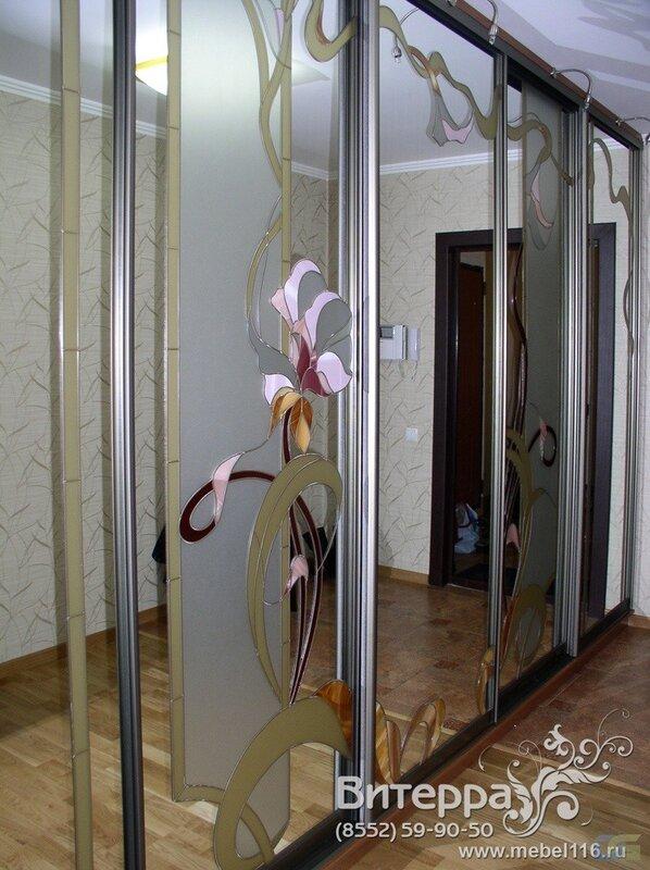 """Студия дизайна мебели  """"Витерра """" Набережные Челны изготавливает любые шкафы-купе на заказ."""