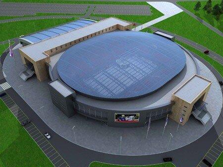"""Ледовый дворец  """"Дизель-Арена """" оснащен новейшей 6-ти канальной HDL-системой видеоповторов и полным комплектом системы..."""