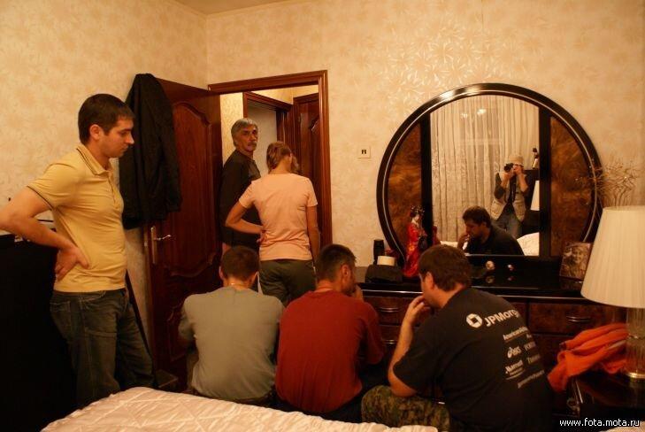 Фото со съёмочной пл. к/к