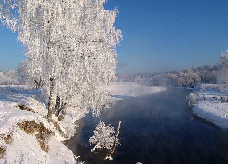 фото о зиме природа со стихами раскрытие