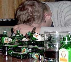 Что делать при алкогольном отравлении