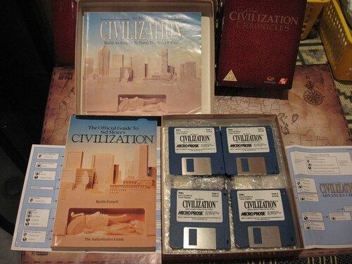 Цивилизация, DRM эпохи дискет