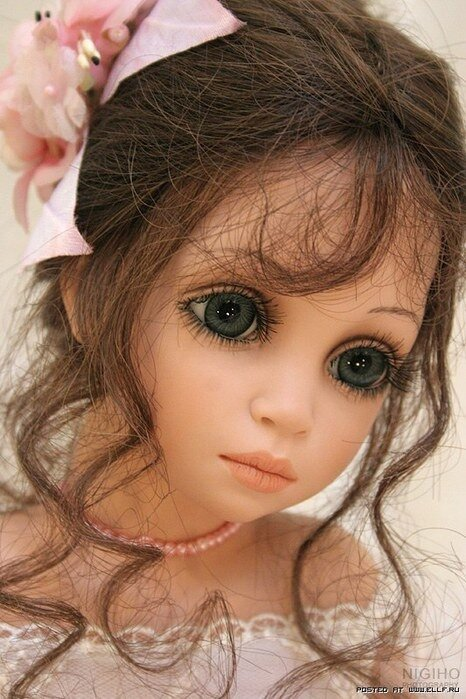 Автор куклы Сью Линг Ванг (Siu Ling Wang)