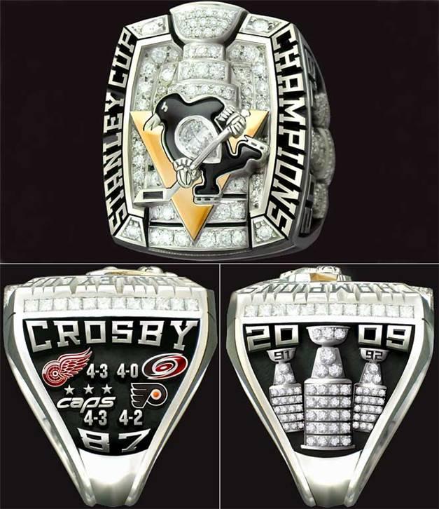 Чемпионские перстни / Champions Rings - Pittsburgh Penguins