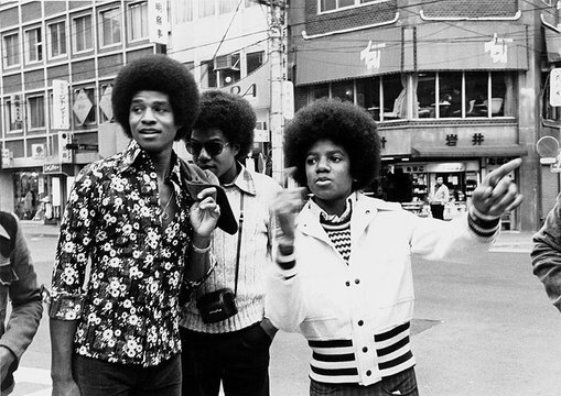 Michael, Tito and Jackie Jackson  in Tokyo on May 7, 1973.Michael, Tito and Jackie Jackson  in Tokyo on May 7, 1973.