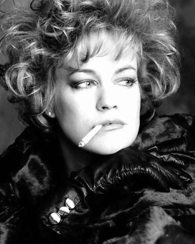 Melanie Griffith Smoking Cigarette 1988